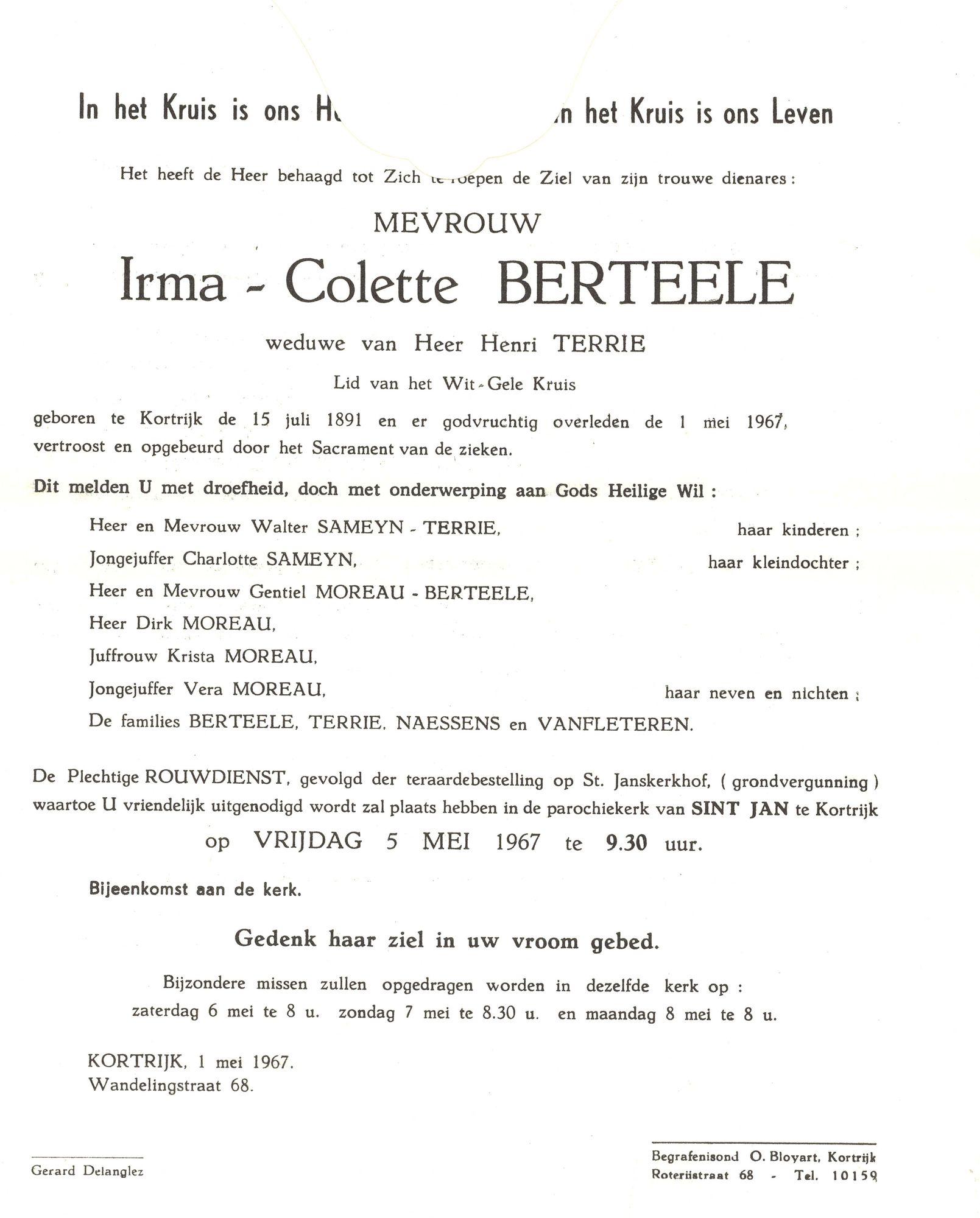 Irma-Colette Berteele