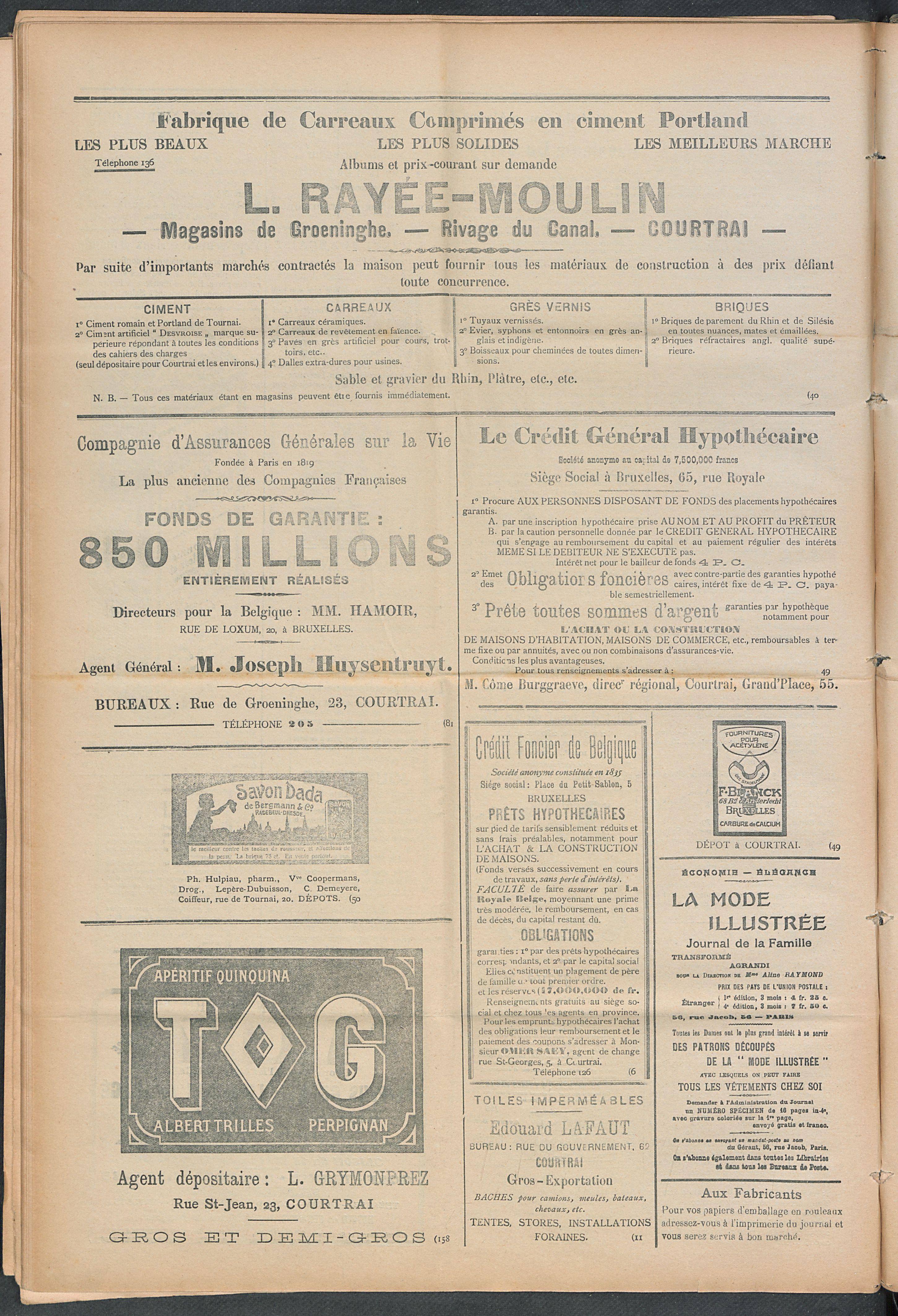 L'echo De Courtrai 1910-05-05 p4
