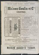 L'echo De Courtrai 1873-02-09 p4