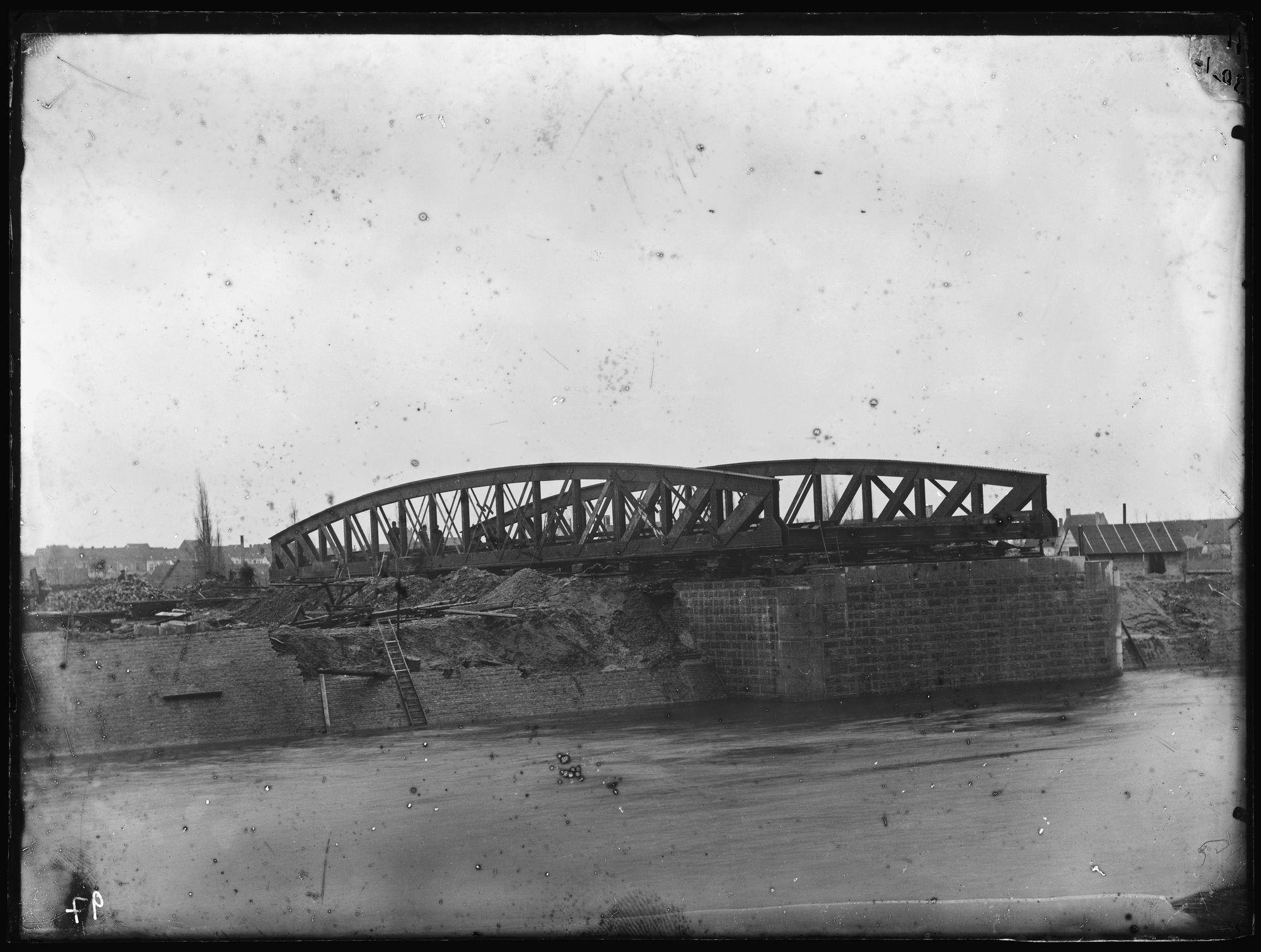 Noordbrug of Gerechtshofbrug circa 1892