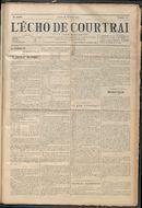 L'echo De Courtrai 1914-02-26