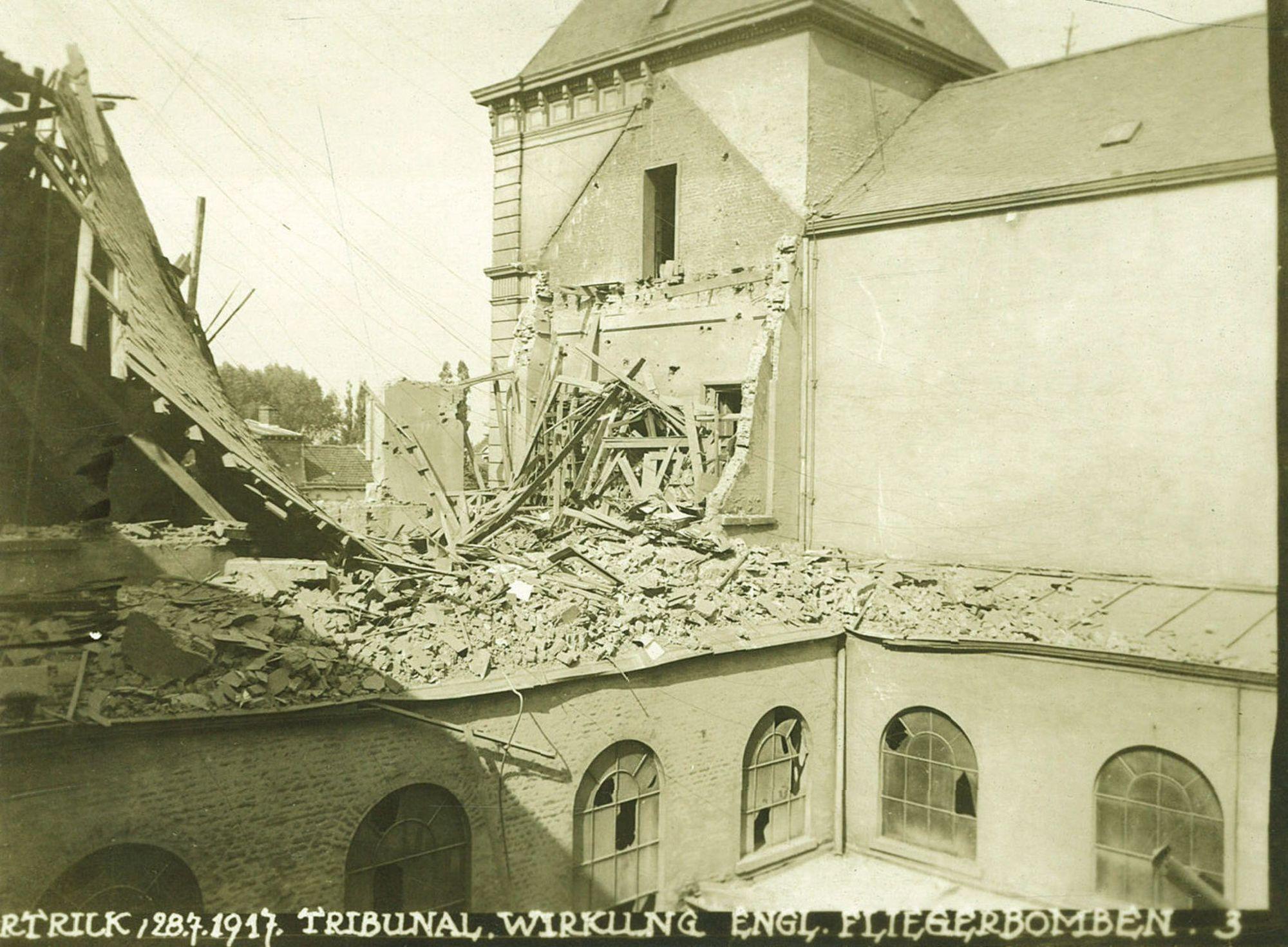 Gerechtsgebouw tijdens Wereldoorlog I