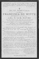Francisca De Witte