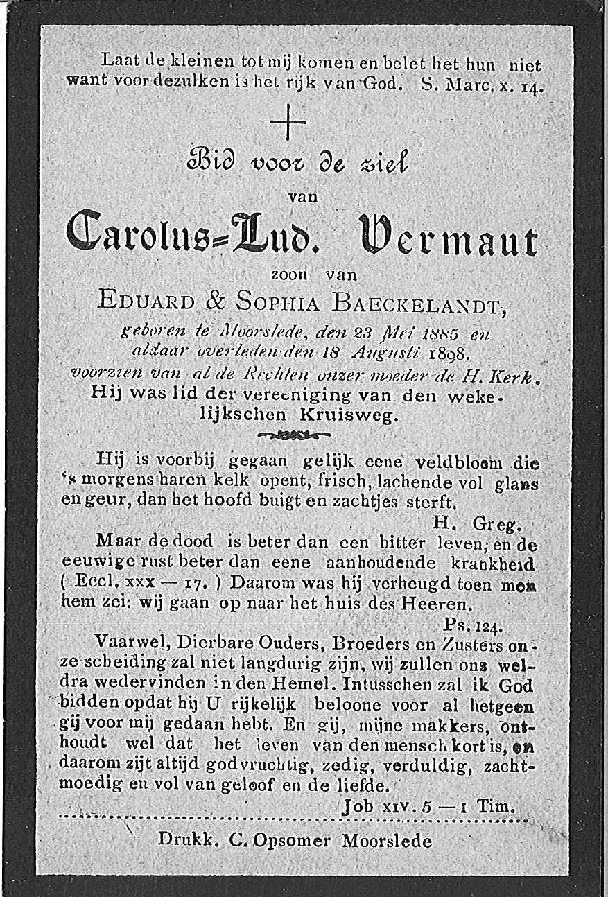 Carolus-Lud. Vermaut