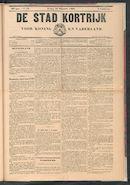 De Stad Kortrijk 1902-12-28