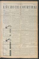 L'echo De Courtrai 1912-05-23
