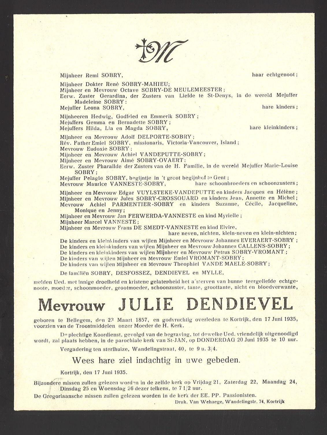 Julie Dendievel