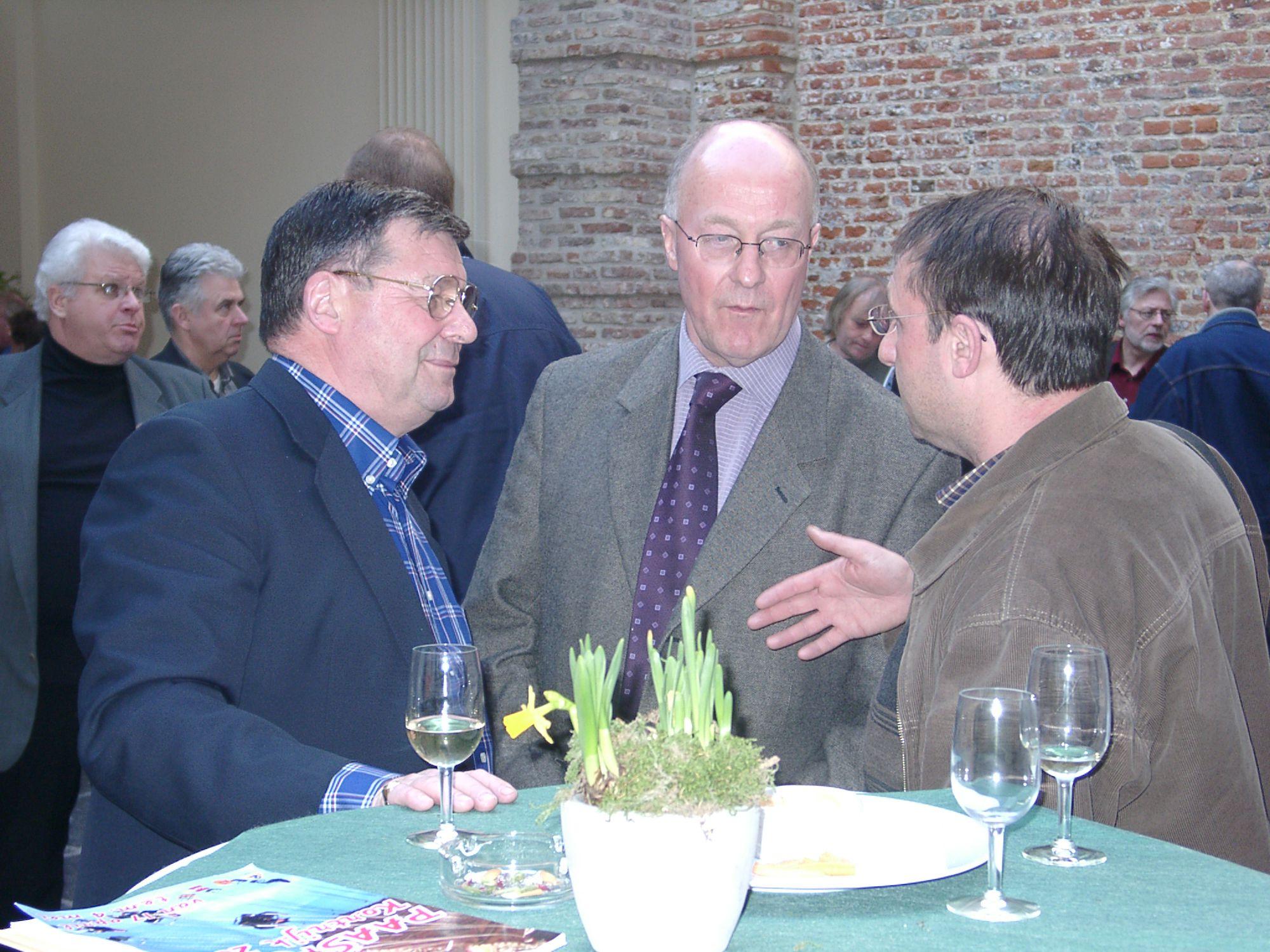 Persconferentie Paasfoor 2003